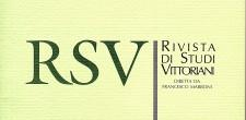 RSV - Rivista di Studi Vittoriani (Journal of Victorian Studies)